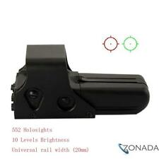 New 552 Holographic Sight Red Green Point Visier Dot Sight Rifle Scope Hunting