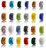 MIX 50pcs murano charm Beads fit DIY European Bracelet beaded Wholesale gift