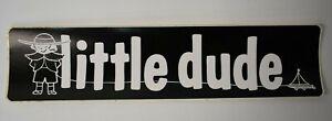 Vintage NOS Little Dude Boat Trailer Decal Sticker 11x2.5