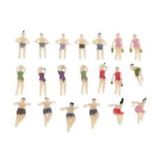 1:150 Scale Beach Swimmers Swimsuits Male Female Figures Model Diorama Scene