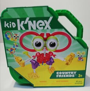 KID K'NEX BUILDING SET. COUNTRY FRIENDS 85305/69900 New in Box.