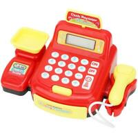 Simulated Supermarket Electronic Cash Register Play Toys Pretend Role for Kids❤G
