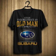 Subaru/Never Underestimate An Old Man Men's US T-Shirt Hot Gift