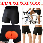 Bike Gel 3D Bicycle Cycling Riding Shorts Padded Pants Men Size S-XXXL Underwear