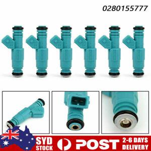 6 x Fuel Injectors For Holden Commodore VG VN VL VQ VP VR VS VT VU VX VY V6 3.8L