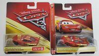 Disney Pixar Cars Rust-Eze Lightning McQueen Car - Target Exclusive - Lot of 2
