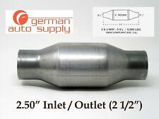 "2.50"" Universal Catalytic Converter - NEW - 271250, 410250 - German Auto Supply"