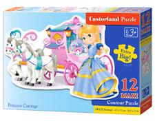 Castorland 12 Piece Kids Puzzle - Princess Carriage