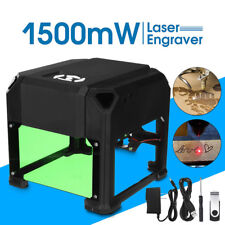 1500mW Mini Laser Engraver Printer Cutter Carver USB DIY Mark Engraving Machine