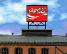 lauflichtwerbung Coca Cola  Reklame SET für Vollmer Faller Kibri Wohnhäus