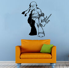 Ninja Turtles Wall Decal TMNT Vinyl Sticker Comics Hero Home Wall Decor (025n)