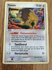 Pokemon Chrystal Guardians TAUROS 12/100 Holo DEUTSCH
