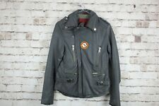 Superdry Leather Jacket size S No.W785 12/2