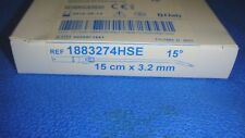 MEDTRONIC 1884075HSE HIGH-SPEED CURVED CUTTING BUR15°,4MM x 15CM ( LOT OF 7 ITEM
