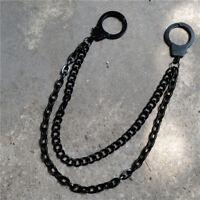 Men Wallet Chain Biker Punk Rock Dancer Motor Jeans Key Chain 2 Layer Link Decor
