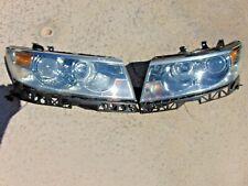 06-09 Lincoln MKZ Zephyr Headlights Halogen Restored Lenses LH & RH Both Nice
