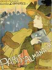 A4 Photo Feure Georges de 1868 1943 Paris Almanach 1894 Print Poster