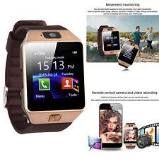 DZ-09 Bluetooth Smart Wrist Sport Watch Pedometer Bracelet for IOS Anroid Golden