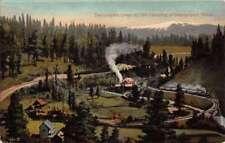 Sacramento River California Cantara Loop Scenic View Antique Postcard K105141