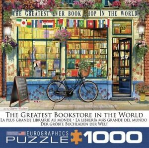 Eurographics Greatest Bookstore in the World 1000 pc Jigsaw Puzzle