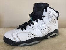 official photos 2a7a7 af0cd Nike Air Jordan 6 Retro White Hyper Black 384665-122 Size 4Y