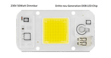 High Power DOB LED Chip 50W direkt 230V Warmweiß Smart IC DIY 5000 Lumen Dimmbar