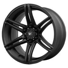 "4-NEW 20"" Inch V Rock VR9 Terrain 20X9.5 6x5.5"" +20mm Matte Black Wheels Rims"
