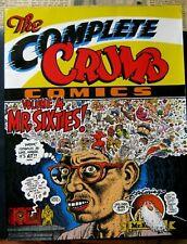 the COMPLETE CRUMB COMICS #4 TPB 2nd Ptg Fine+ Fantagraphics 1995 R FREE SHIP