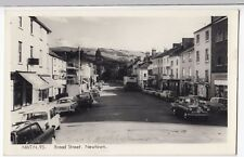 Powys; Newtown, Broad St RP PPC, Unposted, c 1960's By Frith Shows Black Boy Pub