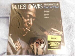 SEALED! - MILES DAVIS Columbia LP KIND OF BLUE - Mono - HQ-180 Gram Vinyl - 2013