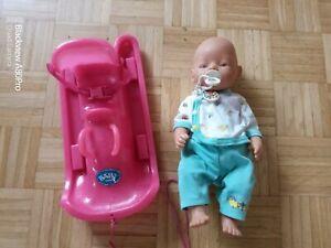 Baby born mit Schlitten