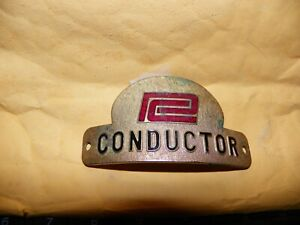 Penn Central Conductor's Hat Badge