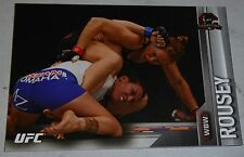 Rowdy Ronda Rousey UFC 2015 Topps Champions Silver Parallel Card 172 193 190 157