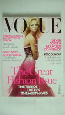 Vogue Magazine September 2007 The Great Fashion Issue