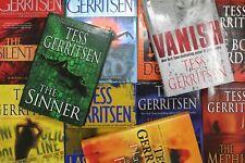 Lot of 5 Tess Gerritsen Suspense Hardcover Books MIX