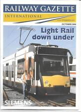 Railway Gazette International magazine- October2000 DH
