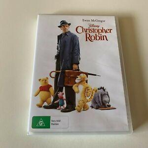 Christopher Robin DVD VGC Disney Region 4 Ewan McGregor Movie 🍿 Rated G Kids