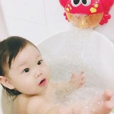 Baby Bath Tub Bubble Maker Blower Toys With Suction Cup For Kids Toddler H9W6