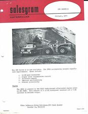 Equipment Brochure - Caterpillar - 980 B - Wheel Loader - c1970 5 items (E3732)