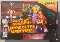 Super Mario RPG: Legend of the Seven Stars Boxed with Game Guide