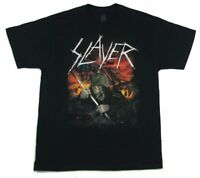 Slayer Death Charge 2015 Tour Black T Shirt New Official Band Merch