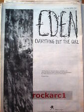 Everything But The Girl Eden 1984 UK Poster size Press ADVERT 16x12""