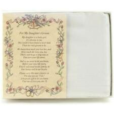 From the Bride's Parent to the Groom Poetry Wedding Handkerchief