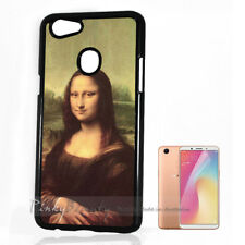 ( For Oppo A73 ) Back Case Cover P10021 Mona Lisa
