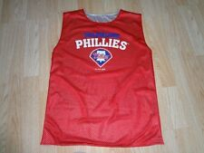 Youth Philadelphia Phillies L Sleeveless Warmup Jersey