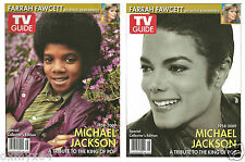 2009 TV Guide Michael Jackson Special Commemorative Tribute 2 Cover Set!