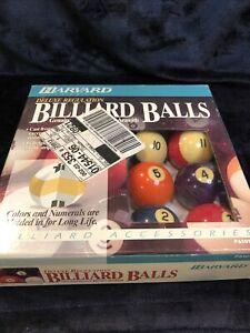 """Vintage Harvard Billiard Balls Complete Set 2 1/4"""" Phenolic Belgium Aramith"""
