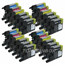 24 Pack LC75 LC-75 BCMY Ink For Brother MFC-J280W MFC-J425W MFC-J430W MFC-J625DW