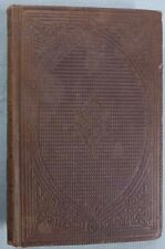 OUR SUNDAY SCHOOL Waldo Abbot, First Edition 1863 HC + AME Quarterly Ticket 1888
