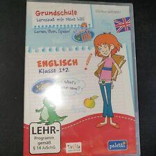Grundschule - Lernspaß mit Hexe Lilli - Englisch Klasse 1 + 2, CD-ROM WIN, NEU
